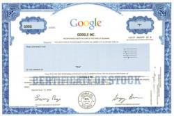 Акция компании Google Inc.
