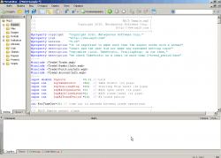 Окно редактора MQL в MetaTrader